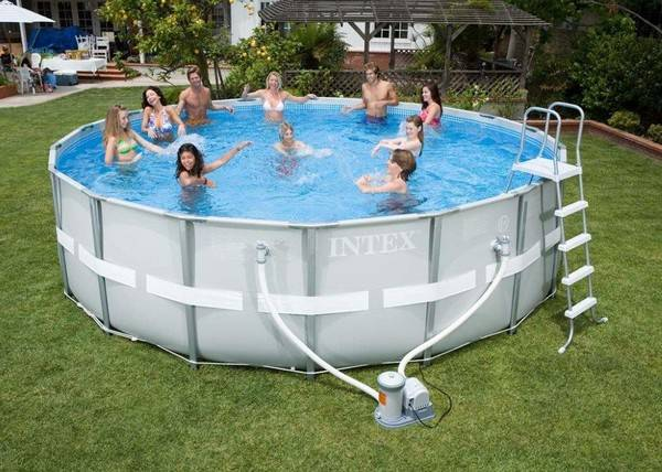 Какой бассейн приобрести - надувной или каркасный? фото