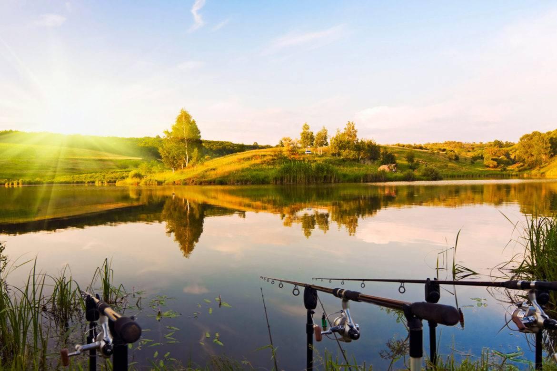 Особенности рыбалки на озере фото