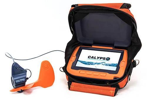 В наличии. Подводная камера Calypso UVS-03 и Эхолот Практик 6S фото