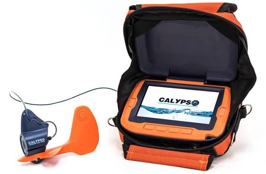 Камера подводного видеонаблюдения Сalypso UVS-03 в новой комплектации, теперь и для летней рыбалки фото