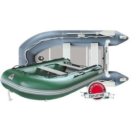 лодка надувная YUKONA 310 TS (AL) с транцем серая в интернет магазине Причал, фото