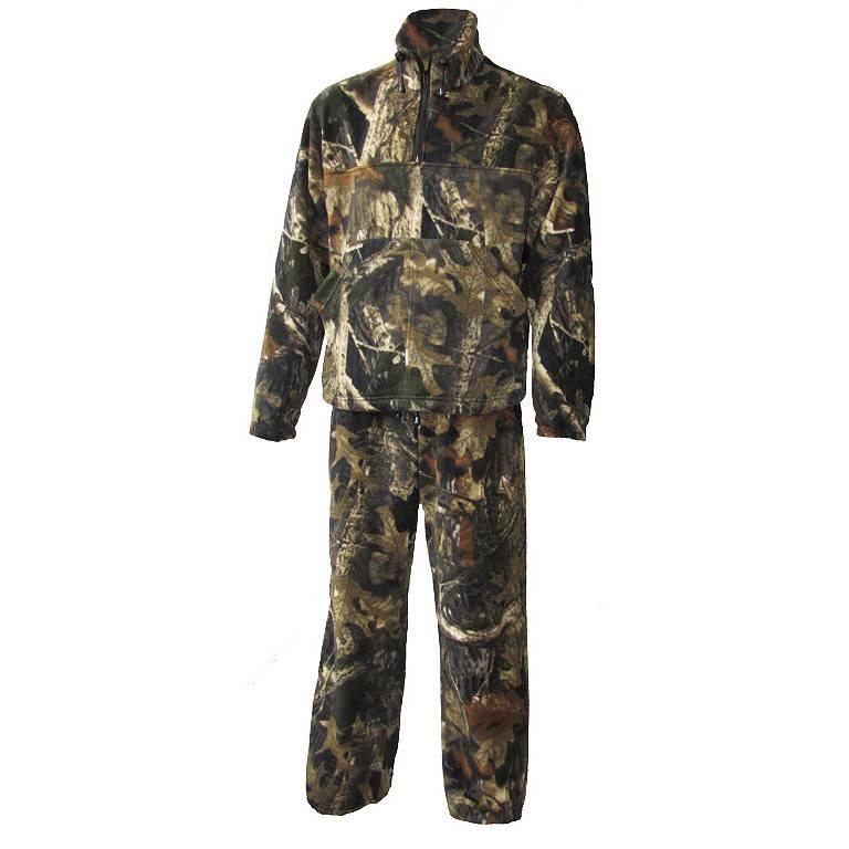 костюм флисовый Пикник/Пикник-Люкс цв.Лес/черный №60 р.60-62 в интернет магазине Причал, фото