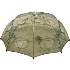 раколовка d 95см h30см 9входов(механизм типа зонт) в интернет магазине Причал, фото