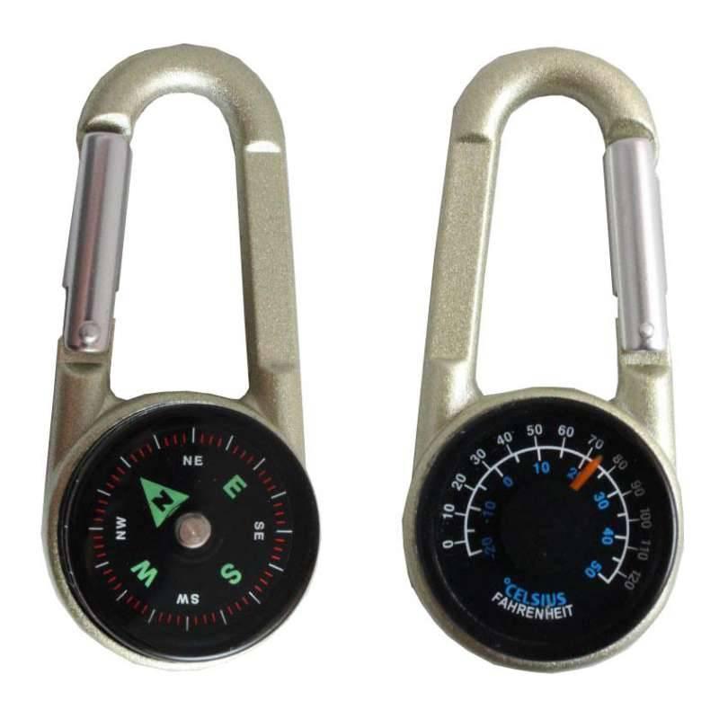 Компас-термометр СЛЕДОПЫТ с карабином PF-TCP-10/06 в интернет магазине Причал, фото