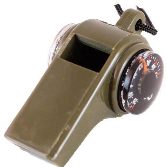 Компас-термометр СЛЕДОПЫТ свисток (с карабином) PF-TCP-08/09 в интернет магазине Причал, фото