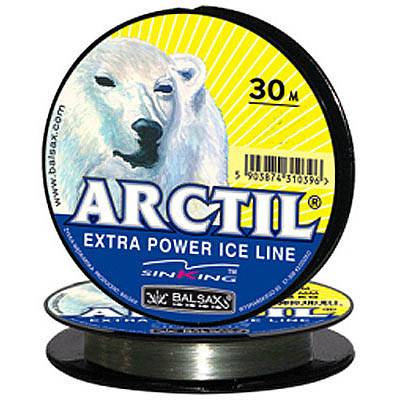 леска зим. Balsax Arctil 30m 0.25mm 6.5кг 13-12-20-133 в интернет магазине Причал, фото