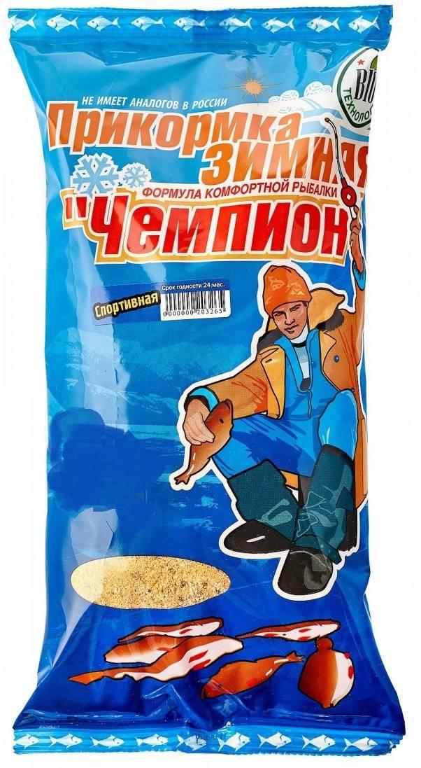 прикормка Чемпион спорт зимняя обычная 0,9кг в интернет магазине Причал, фото