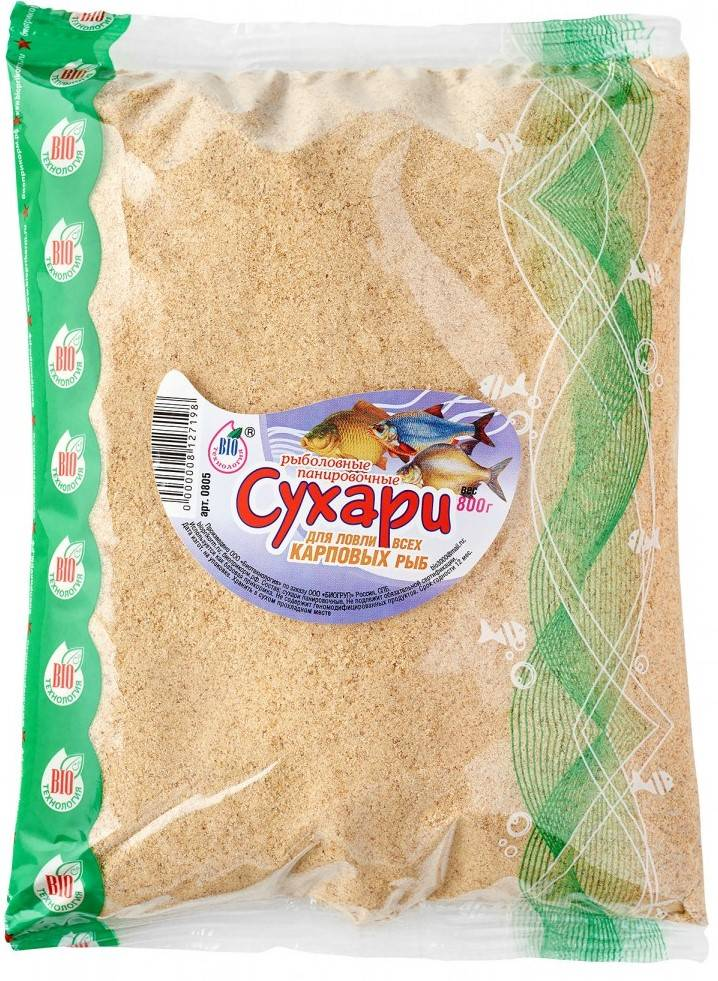 панировочные сухари для рыбалки сухари