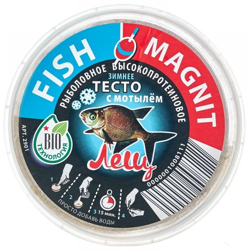 тесто зимнее Fish Magnit Лещ с мотылем в интернет магазине Причал, фото