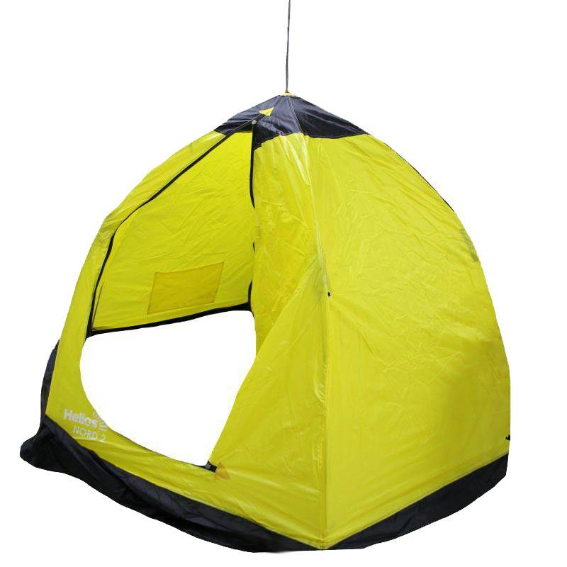 палатка зимняя Helios Nord-1 1-местная зонтик в интернет магазине Причал, фото