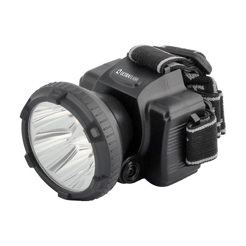 Фонарь ULTRAFLASH LED 5365 5LED, налобный, аккум, 2режима в интернет магазине Причал, фото