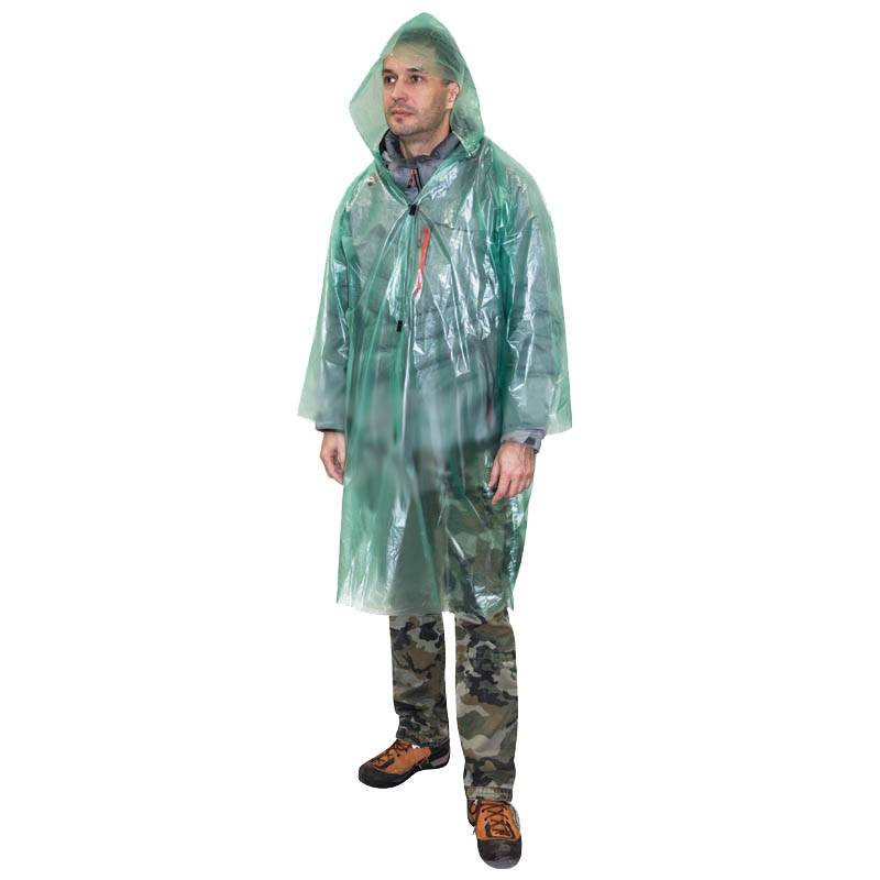 дождевик-плащ на липучках р.48-54(XXL) 40мкм ПВД в интернет магазине Причал, фото