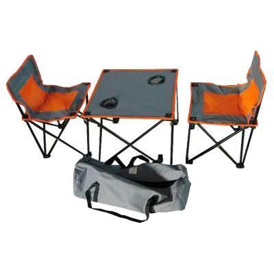 стол складной IRIT IRG-520 с двумя стульями (в сумке) в интернет магазине Причал, фото