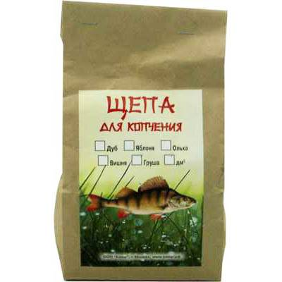 Щепа для копчения абрикос (объём 1дм3) КАЮР в интернет магазине Причал, фото