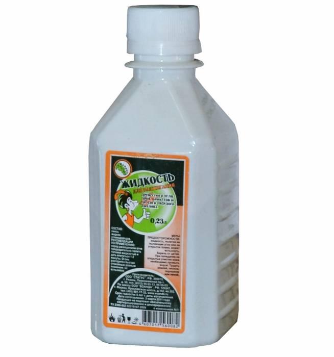 Жидкость для розжига 0,25/0,23/0,22 л парафин в интернет магазине Причал, фото