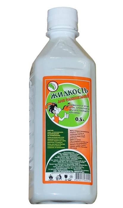 Жидкость для розжига 0,5 л парафин в интернет магазине Причал, фото
