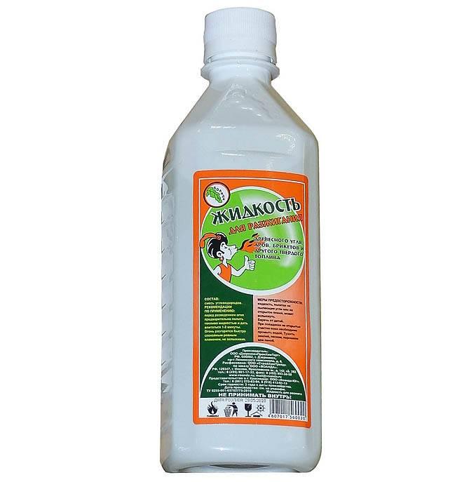 Жидкость для розжига 1,0 л парафин в интернет магазине Причал, фото