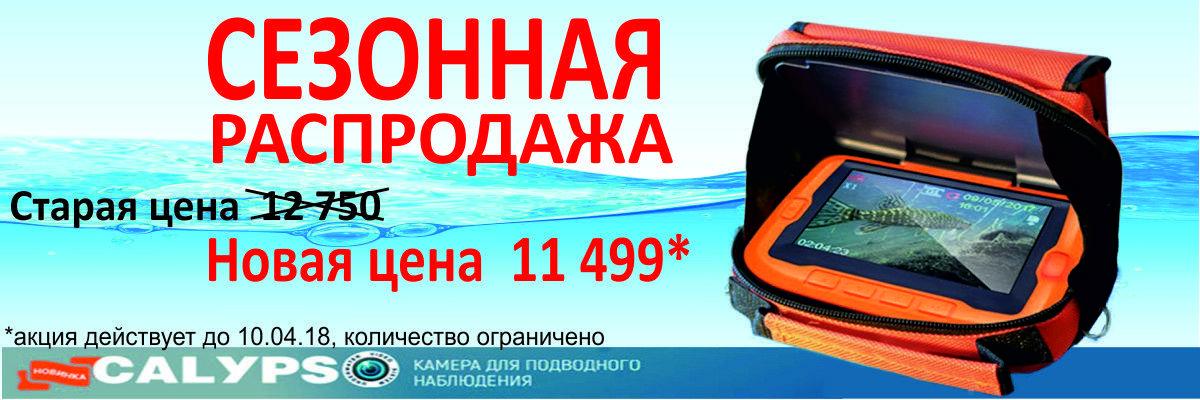 Сезонная распродажа - видеокамера Калипсо