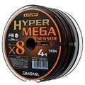 плетенка DAIWA UVF Hyper Mega Sensor 100м 1,5 X6 в интернет магазине Причал, фото