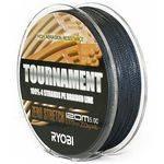 плетенка RYOBI PE TOURNAMENT 4*120m d 0.185 9.0kg Grey RB4G185 в интернет магазине Причал, фото