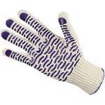 перчатки ХБ с ПВХ Волна /Точка(4 нити)... в интернет магазине Причал, фото