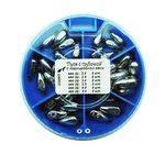 грузила свинцовые набор SALMO Пуля с трубочкой 6 секц. 085 набор 8527-085 в интернет магазине Причал, фото