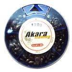 грузила Akara мягкие набор большой овсинка 5 деленCLH1-08
