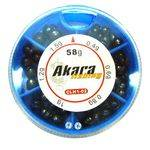 грузила Akara мягкие набор малый дробинка CLH1-02 в интернет магазине Причал, фото