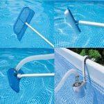 чистящий набор для бассейнов до 6м (сачок+водн.пылесос,щетка,держатель)58959 в интернет магазине Причал, фото