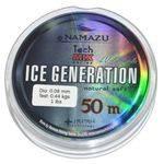 леска Namazu Ice Generation 50/30м 0,18мм NIG50-0,18 в интернет магазине Причал, фото