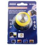 Фонарь аккумуляторный налобный 1 светод. яркий, акк 168 SH (409) на магните в интернет магазине Причал, фото