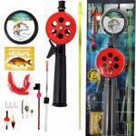 рыболовный набор зимний №4 ЛЮКС (Ice Master) Три Кита в интернет магазине Причал, фото