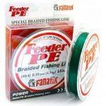 плетенка FANATIK FEEDER PE 4X 140m #0.8 d 0.14mm зеленый в интернет магазине Причал, фото
