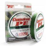 плетенка FANATIK CHAMELEON PE 4X 100m #0.8 d 0.14mm ил-трава в интернет магазине Причал, фото