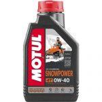 масло MOTUL SNOWPOWER 4T 0W-40 (1л) 101230 для снегохода в интернет магазине Причал, фото