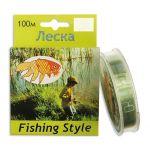 Леска Fishing Style RL2914 100м 0,45 мм 12,54кг в интернет магазине Причал, фото